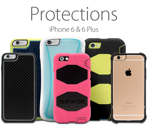 Protections pour iPhone 6 & 6 Plus