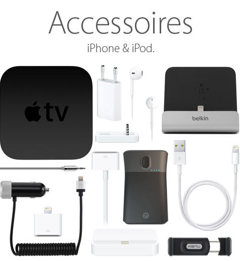 Accessoires iPhone & iPod