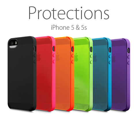 Protections pour iPhone 5s/SE