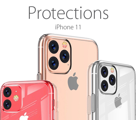 Protections pour iPhone 11
