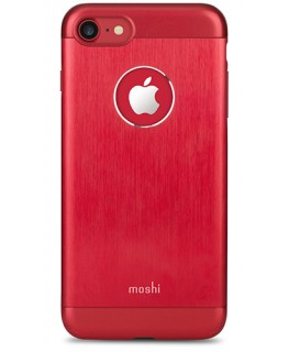 Moshi iGlaze Armour rouge carmin iPhone 7