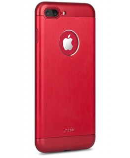 Moshi iGlaze Armour rouge carmin iPhone 7 Plus