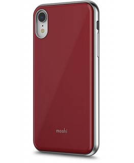 Moshi Coque fine iGlaze iPhone XR - Rouge Merlot