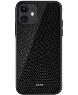 QDOS Coque Etch Carbon iPhone 11