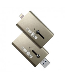 iCIRROUND iShowFast Gold - Clé USB 3.0 et Lightning 64 Go