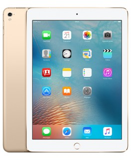 iPad Pro 9,7 pouces 128 Go Wi-Fi + Cellular Or