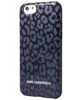Karl Lagerfeld Coque Kamouflage grise iPhone 6/6s Plus