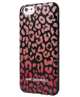 Karl Lagerfeld Coque Kamouflage rose iPhone 5s/SE