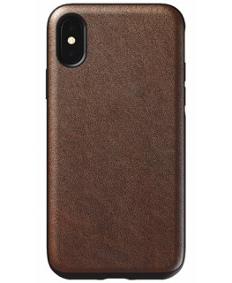 Nomad Étui Rugged iPhone X/XS Tabac