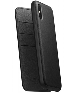 Nomad Rugged Folio iPhone XS Max Noir