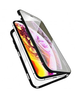 QDOS Coque OptiGuard Infinity Glass iPhone XR