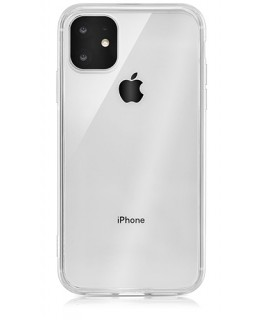 QDOS Coque Hybrid iPhone 11 - Transparent