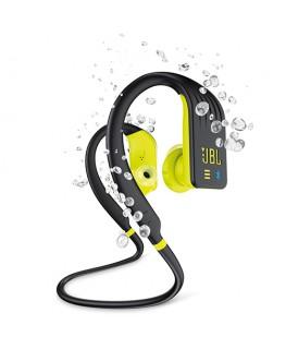 JBL Écouteurs Endurance Dive BT étanches avec lecteur MP3 intégré - Fluo