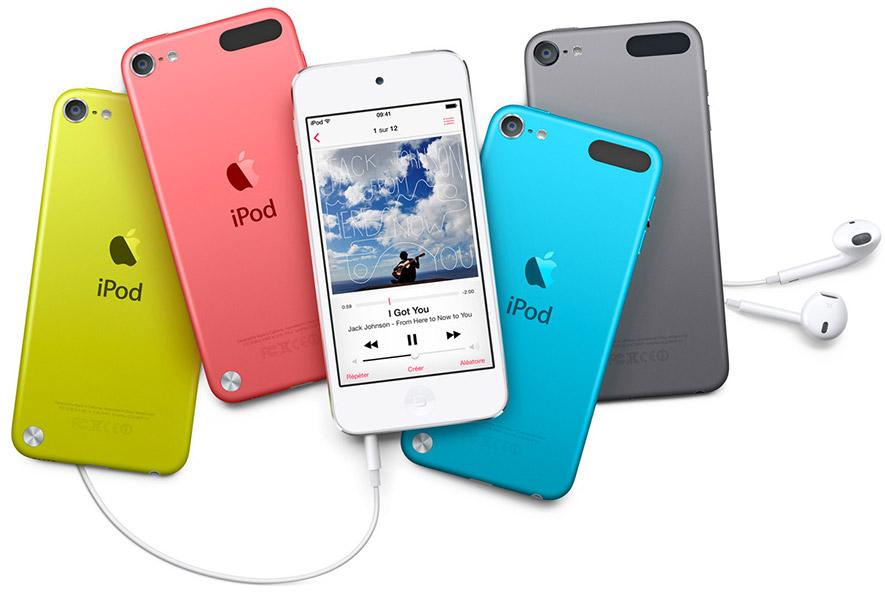 Voir tous les iPod